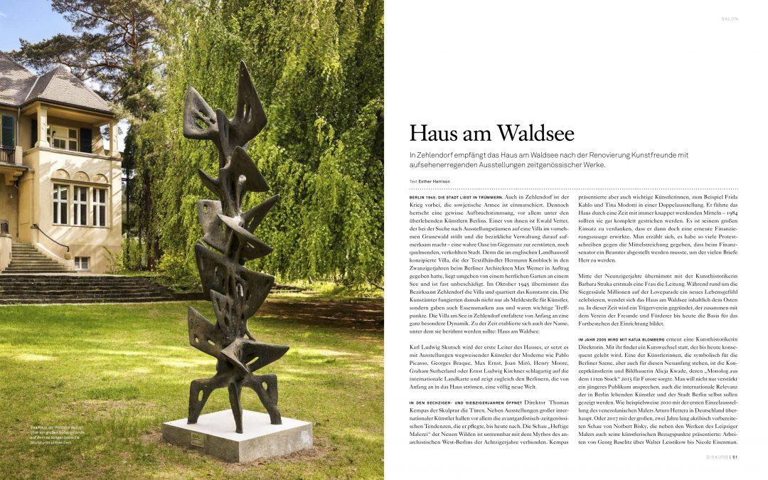 Haus am Waldsee | Diskurs Magazin 27